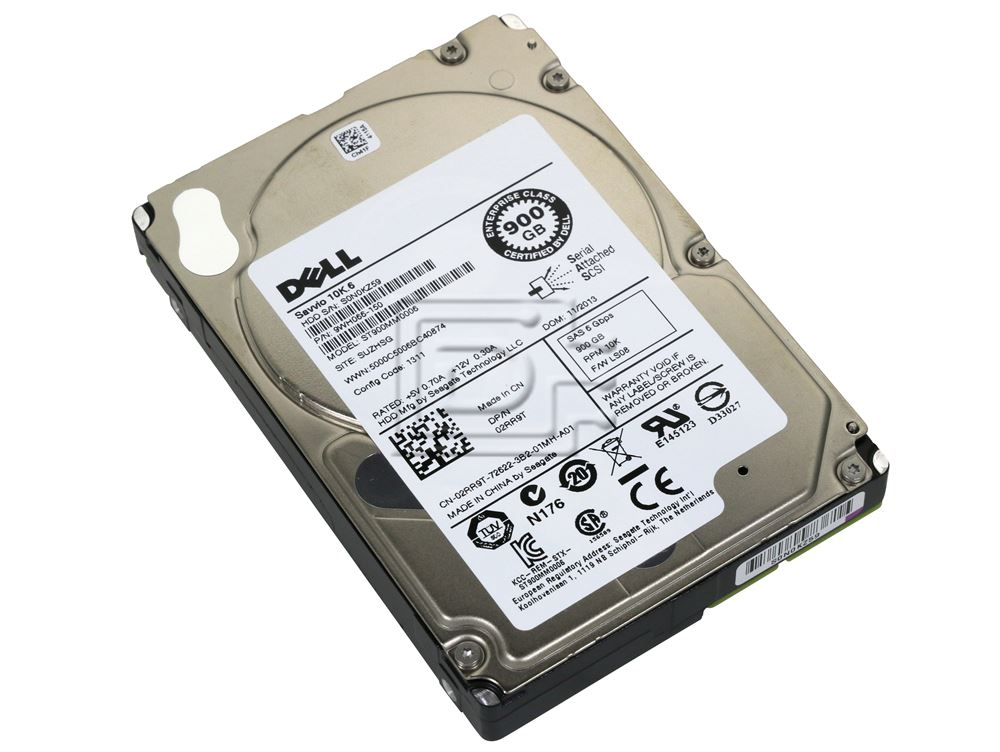 Seagate ST900MM0006 9WH066-150 02RR9T 2RR9T SAS Hard Drives image 1