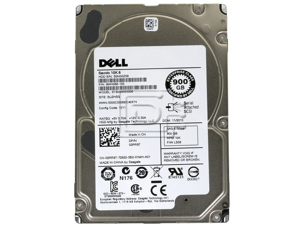 Seagate ST900MM0006 9WH066-150 02RR9T 2RR9T SAS Hard Drives image 2