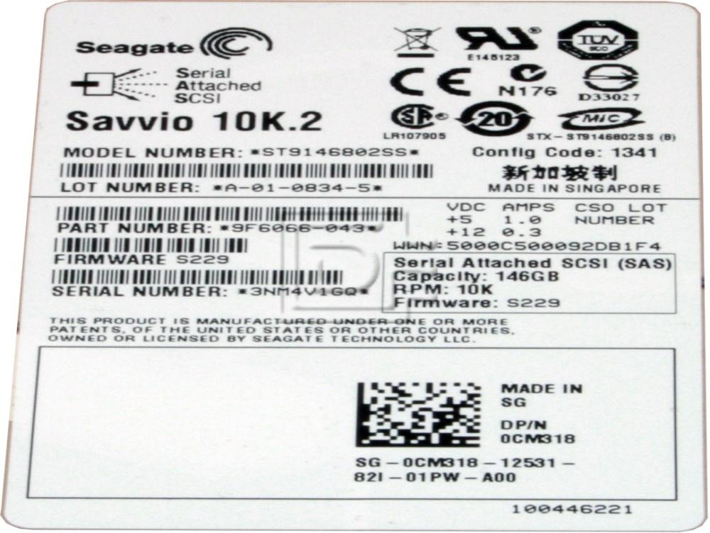 Seagate ST9146802SS SAS Hard Drives image 3