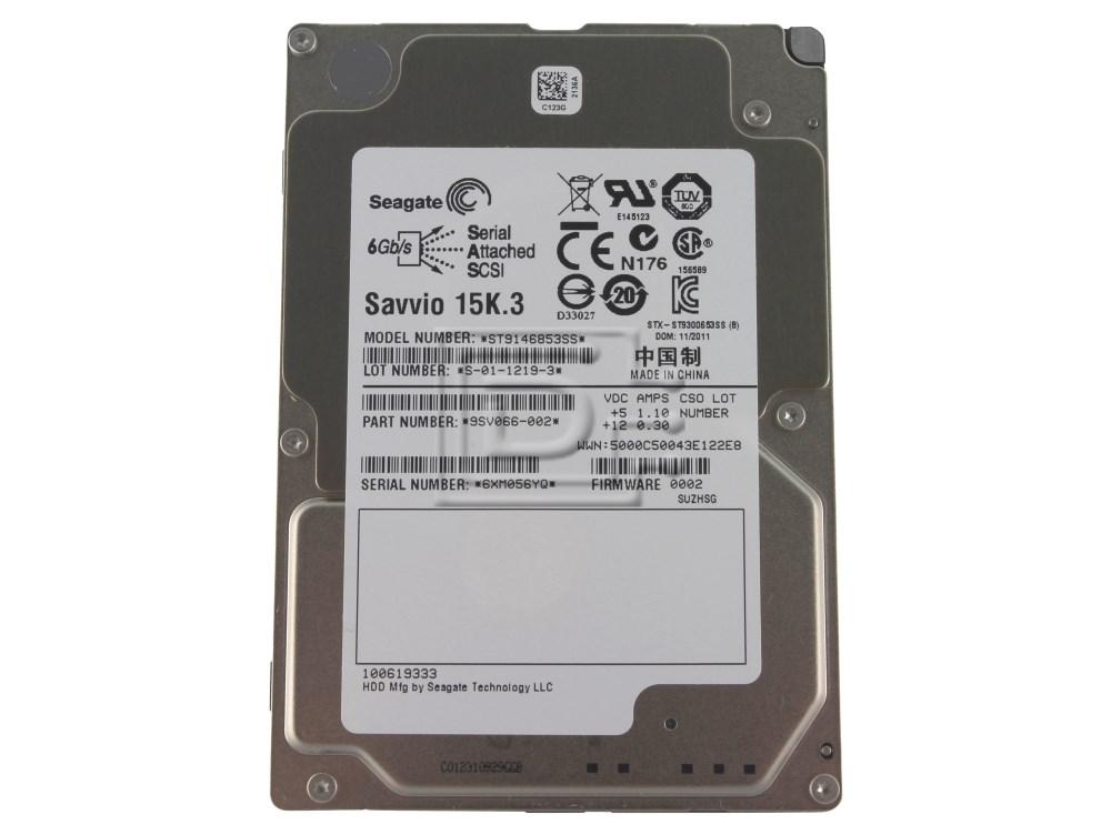 Seagate ST9146853SS 9SV066-002 SAS Hard Drives image 1