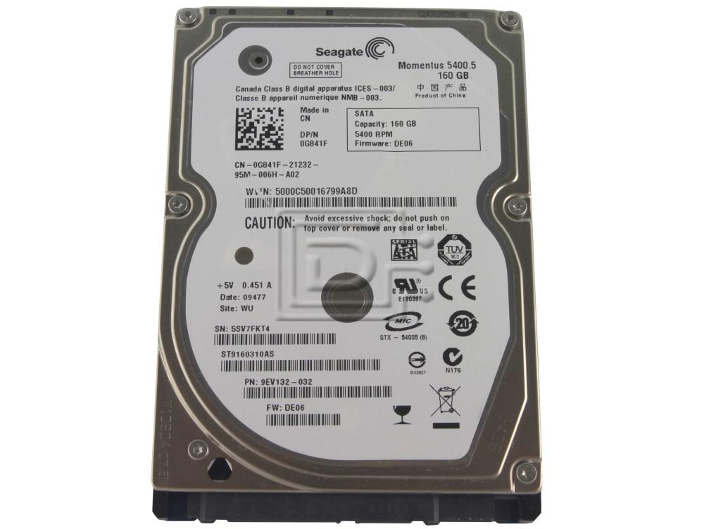 Seagate Momentus 160 GB SATA HD ST9160310AS
