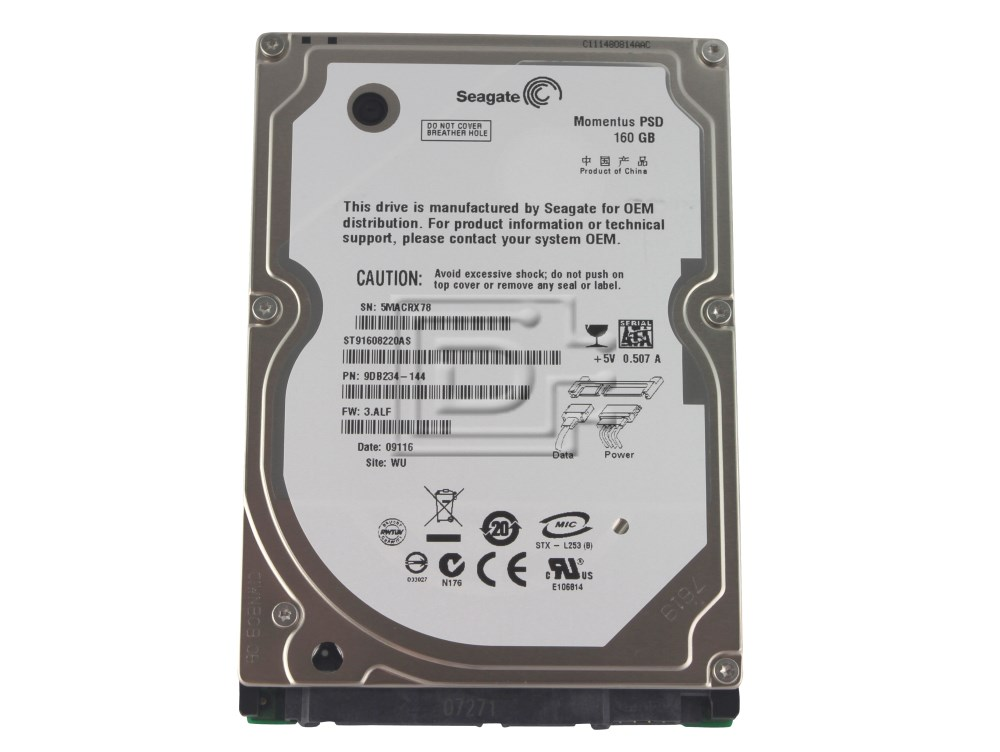 Seagate ST91608220AS SATA Hard Drive image 1