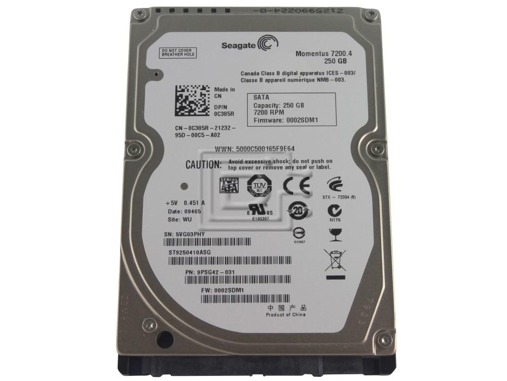9FWG44-501 F//W Seagate ST9200420ASG 200GB P//N 3.AAA WU