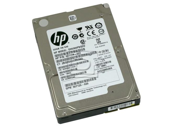 Seagate ST9300653SS 627114-002 507129-020 EH0300FBQDD SAS Hard Drives image 1