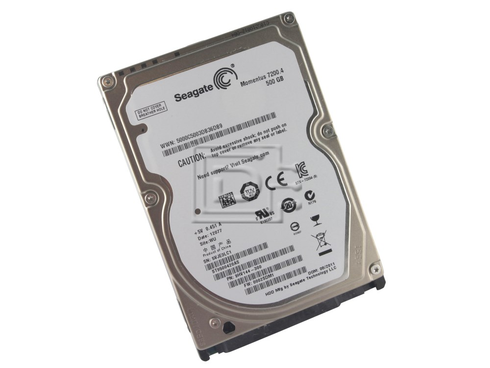 Seagate ST9500420AS SATA Hard Drive image 1
