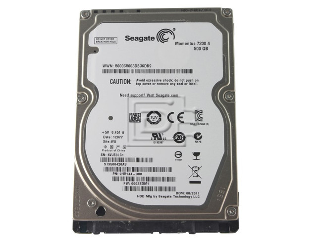 Seagate ST9500420AS SATA Hard Drive image 4