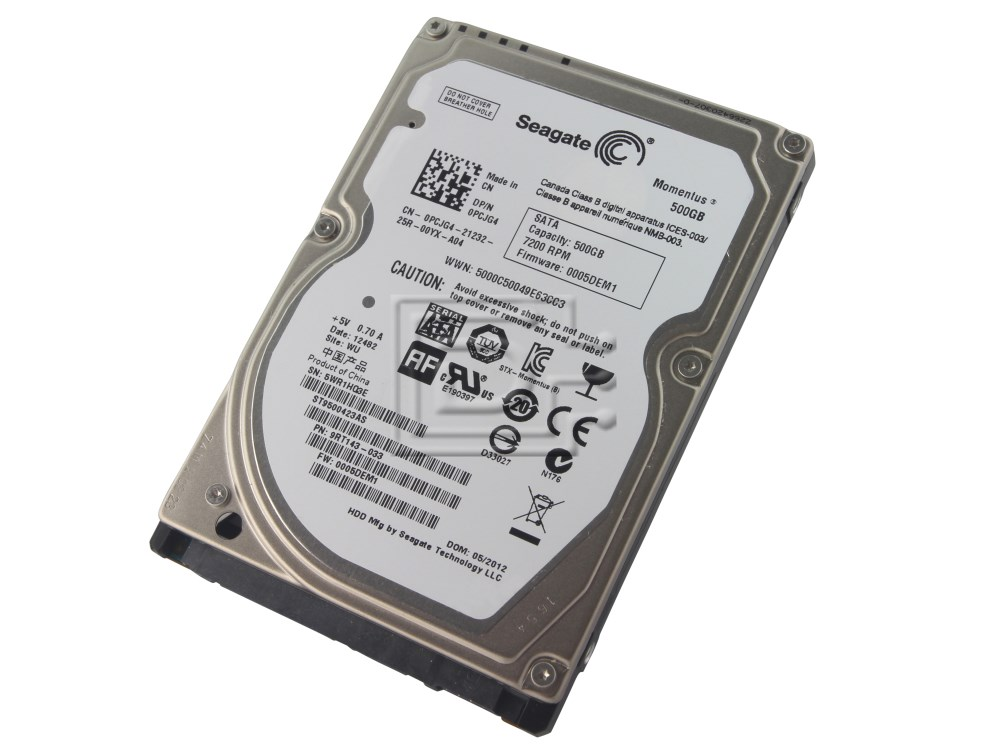 Seagate ST9500423AS SATA hard drive image 1