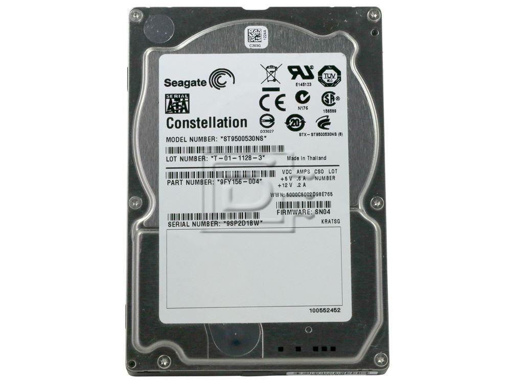 Seagate ST9500530NS 9FY156 SATA Hard Drive image 2