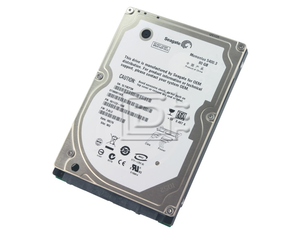 Seagate ST980811AS SATA Hard Drive image 1