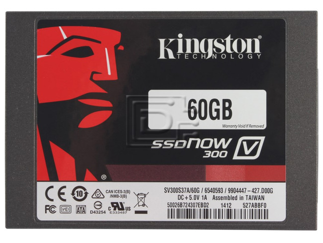 KINGSTON TECHNOLOGY SV300S37A-60G SV300S37A/60G SATA image 1