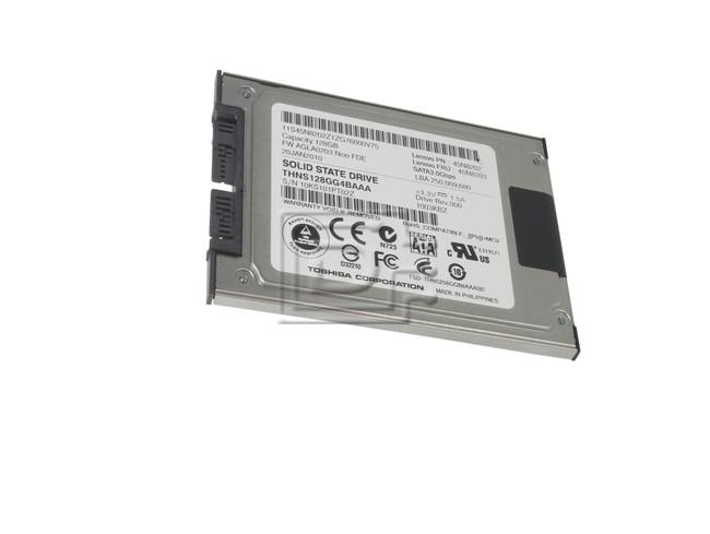 Toshiba THNS128GG4BAAA 45N8202 Toshiba 128GB SSD Micro SATAII image 1