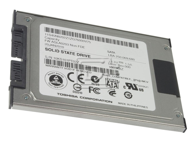 Toshiba THNS256GG8BAAA 89ES100DT0OZ 9IS100BT0OZ Lenovo 45N8206 45N8207 mSATA SSD image