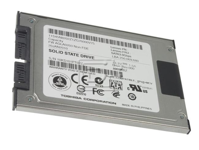 Toshiba THNSFC256GAMJ 45N7990 SATA SSD image