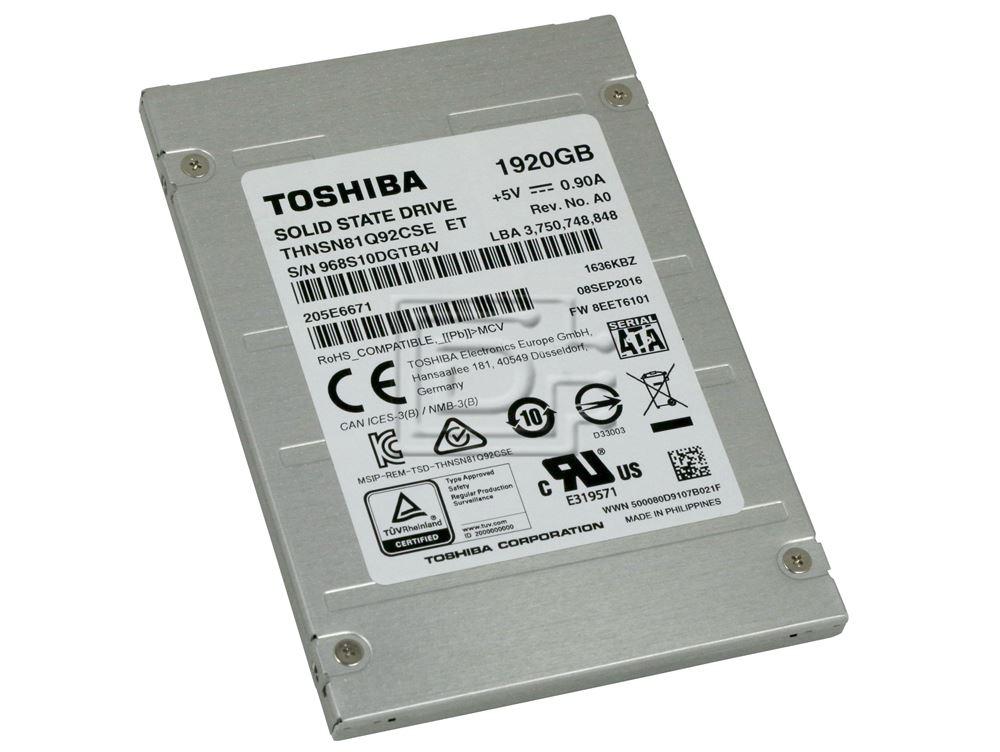 Toshiba THNSN81Q92CSE SATA eSSD image