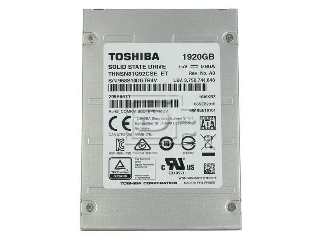Toshiba THNSN81Q92CSE SATA eSSD image 2