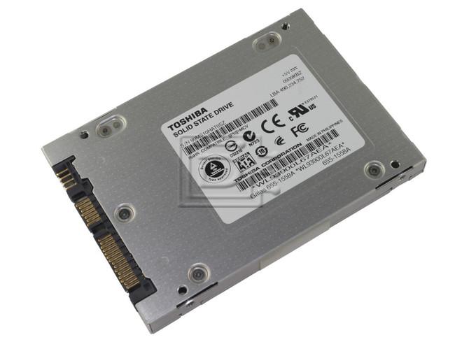 Toshiba THNSNJ120PCSZ SATA Solid State Drive image