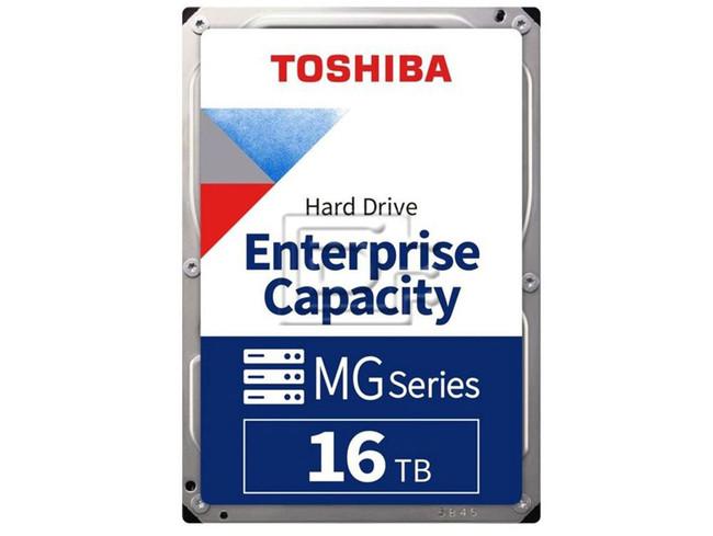 Toshiba MG08ACA16TEY HDEPX40DAB51 HPGJ4 0HPGJ4 MG08ACA16TE SATA Hard Drive image