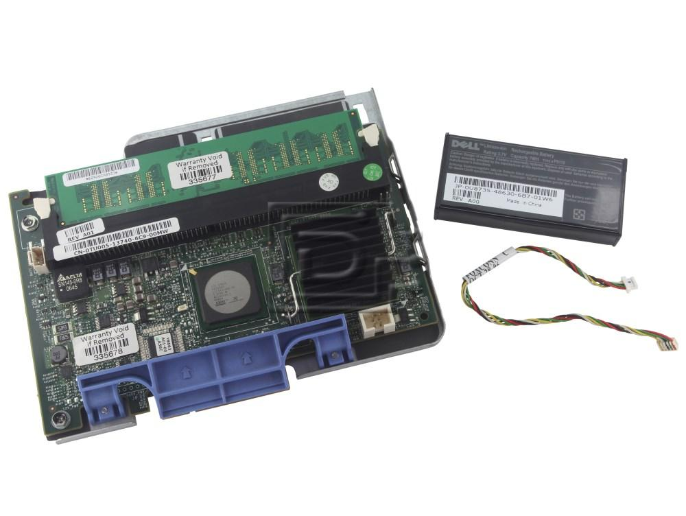 Dell TU005 HG129 SAS / Serial Attached SCSI RAID Controller Card image 1