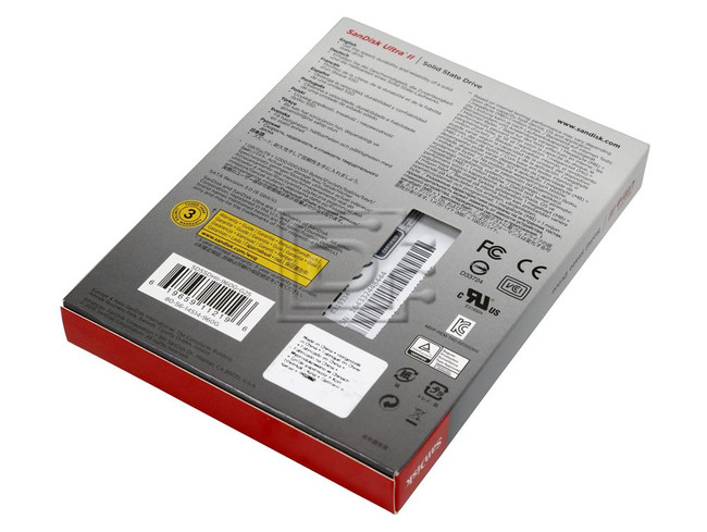 SANDISK SDSSDHII-120G SDSSDHII-120G-G25 SDSSDHII-120G-Q25 SDSSDHII-120G-Z25 SATA SSD image 2