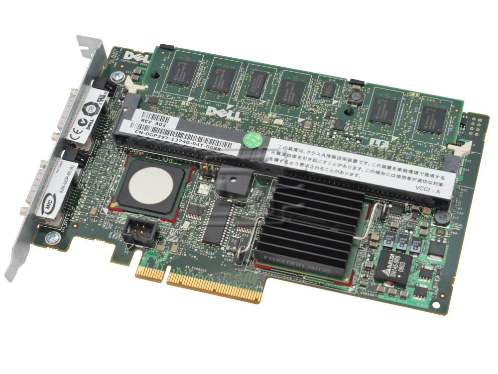 Dell UT568 RF480 XM768 MY458 GP297 341-4291 DM479 0RF480 0XM768 0MY458 341-4291 0DM479 SAS / Serial Attached SCSI RAID Controller Card image 1