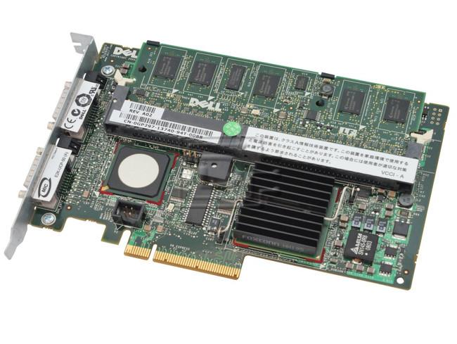 Dell UT568 RF480 XM768 MY458 GP297 341-4291 DM479 0RF480 0XM768 0MY458 341-4291 0DM479 SAS / Serial Attached SCSI RAID Controller Card image 1
