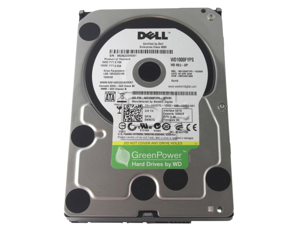 Western Digital WD1000FYPS W907G 0W907G SATA Hard Drive image 4