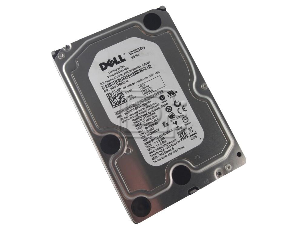 Western Digital WD1002FBYS 0J317F J317F 50XV4 050XV4 SATA Hard Drive image 1