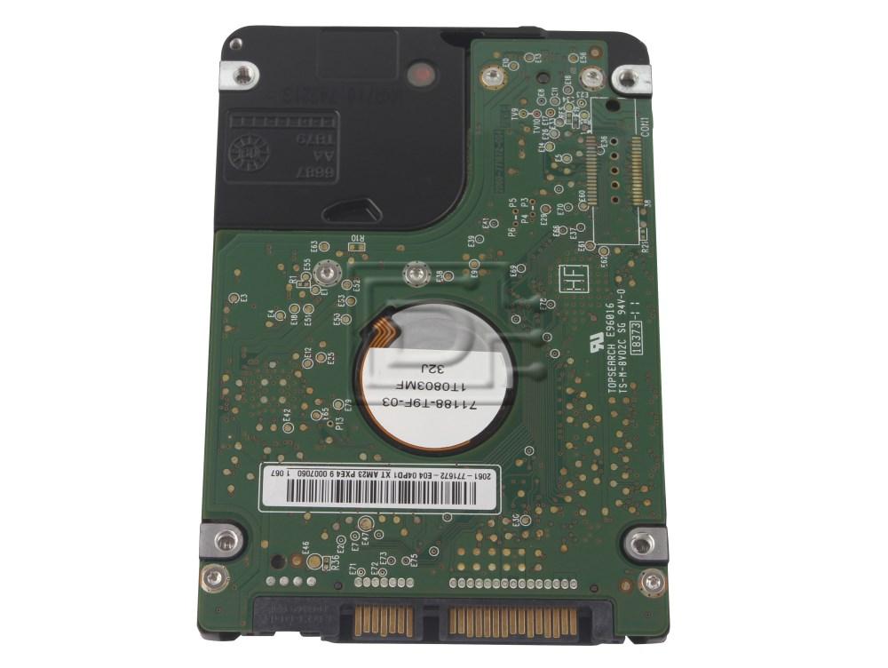"Western Digital WD1600BEKT 4TNHY 04TNHY 2.5"" SATA Hard Drive image 2"