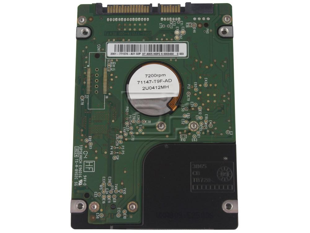 """Western Digital WD1600BJKT J165G 0J165G SATA Hard Drive 2.5"""" 320GB 7.2K 72000 RPM image 2"""
