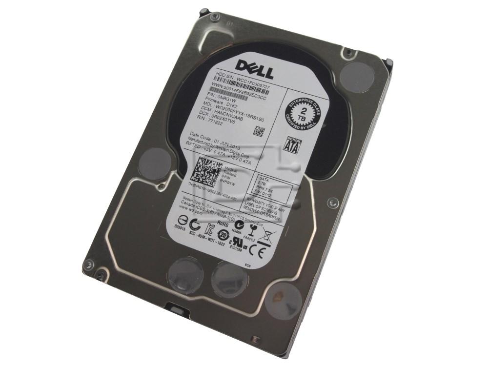 Western Digital WD2000FYYX NRG1W 0NRG1W Enterprise SATA Hard Drive Western Digital RE image 1