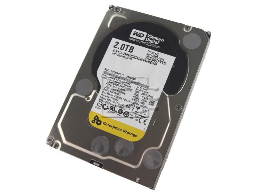 Western Digital WD2001FYYG Western Digital SAS Hard Disk Drive 2TB image 1