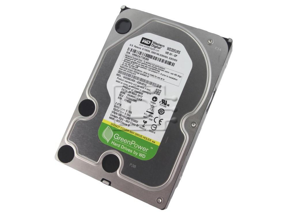 Western Digital WD20EURS SATA Hard Drive image 1