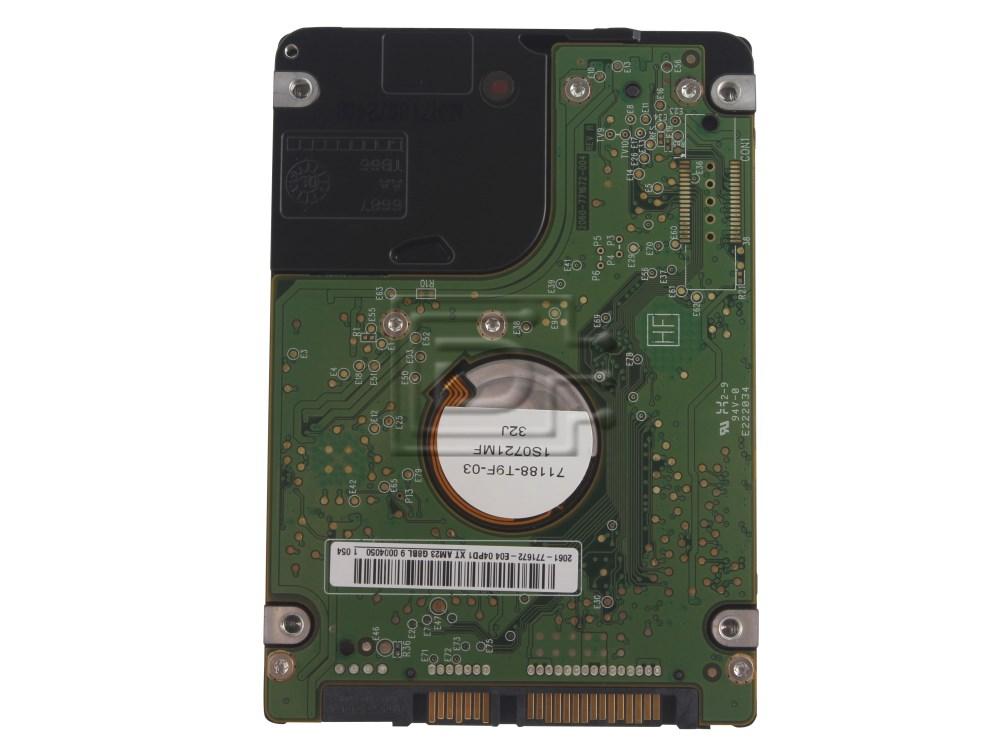"""Western Digital WD2500BEKT Y19R3 0Y19R3 2.5"""" SATA Hard Drive image 2"""
