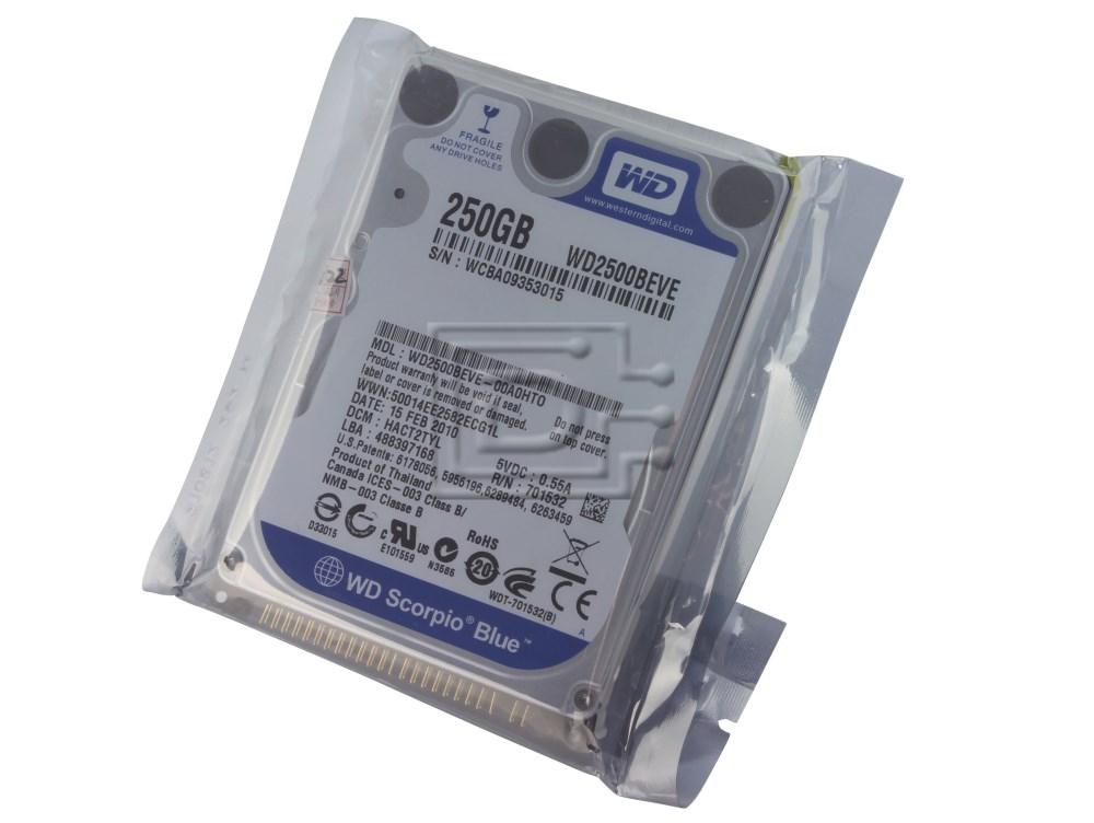 "Western Digital WD2500BEVE 2.5"" IDE PATA Hard Drive image"