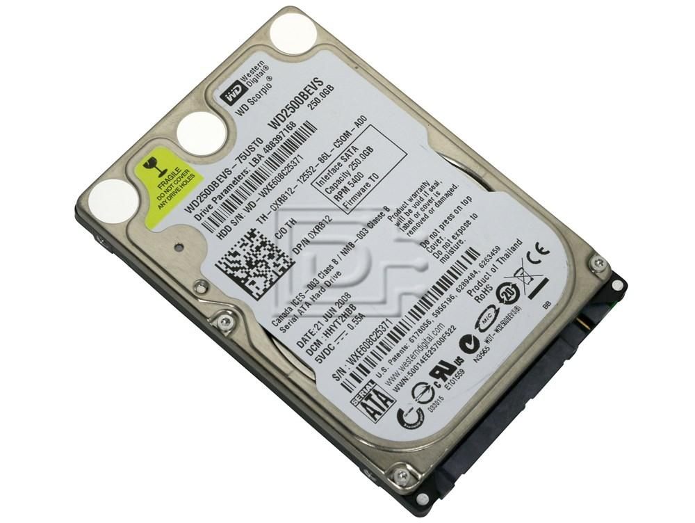 WDC WD2500BEVS SATA DRIVERS FOR PC