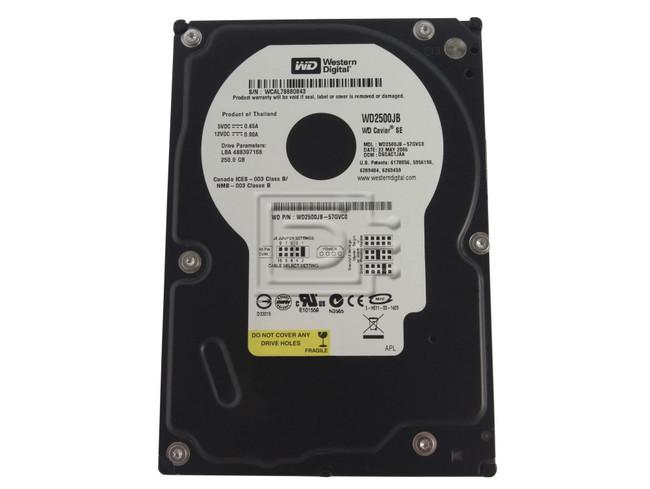 Western Digital WD2500JB EIDE Hard Drive image 1