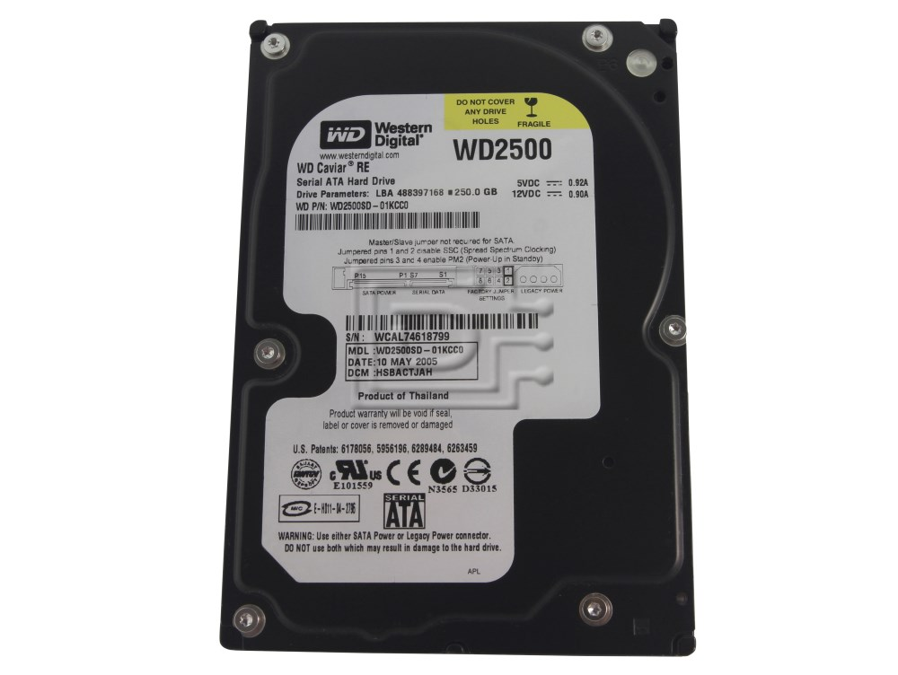 Western Digital WD2500SD SATA Hard Drive image 1