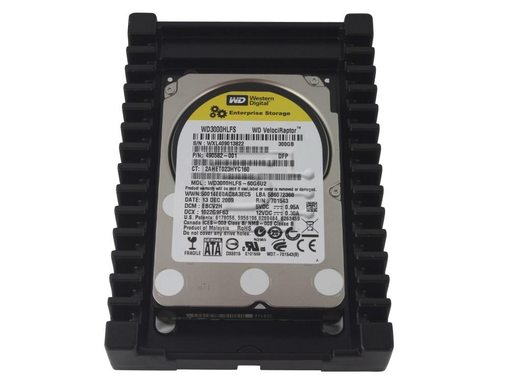 Western Digital WD3000HLFS VelociRaptor SATA Hard Drive image 1