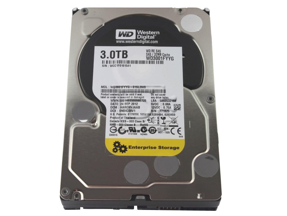 Western Digital WD3001FYYG Western Digital SAS Hard Disk Drive 3TB image 1