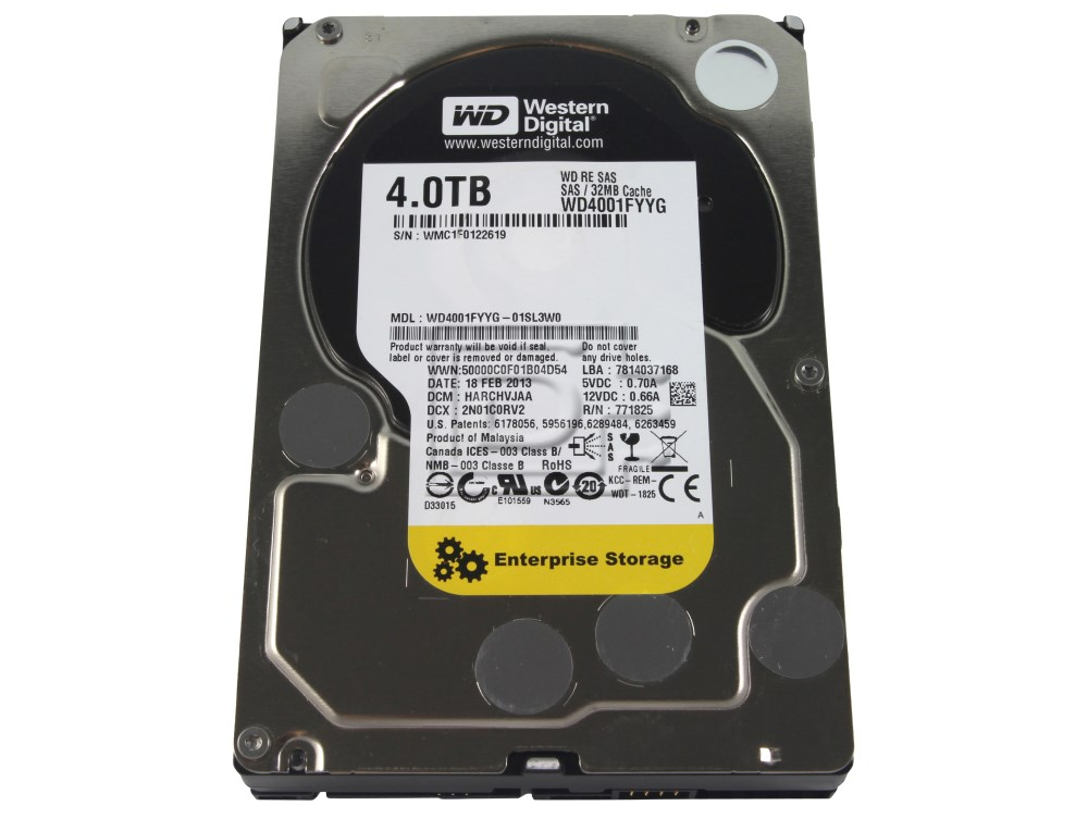 Western Digital WD4001FYYG SAS Hard Drives image 2