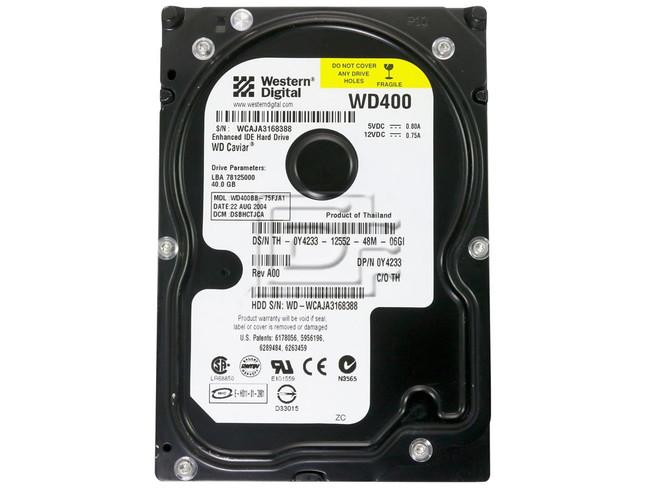 Western Digital WD400BB EIDE Hard Drive image 2
