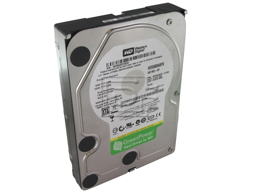 Western Digital WD5000ABPS SATA Hard Drive image 1