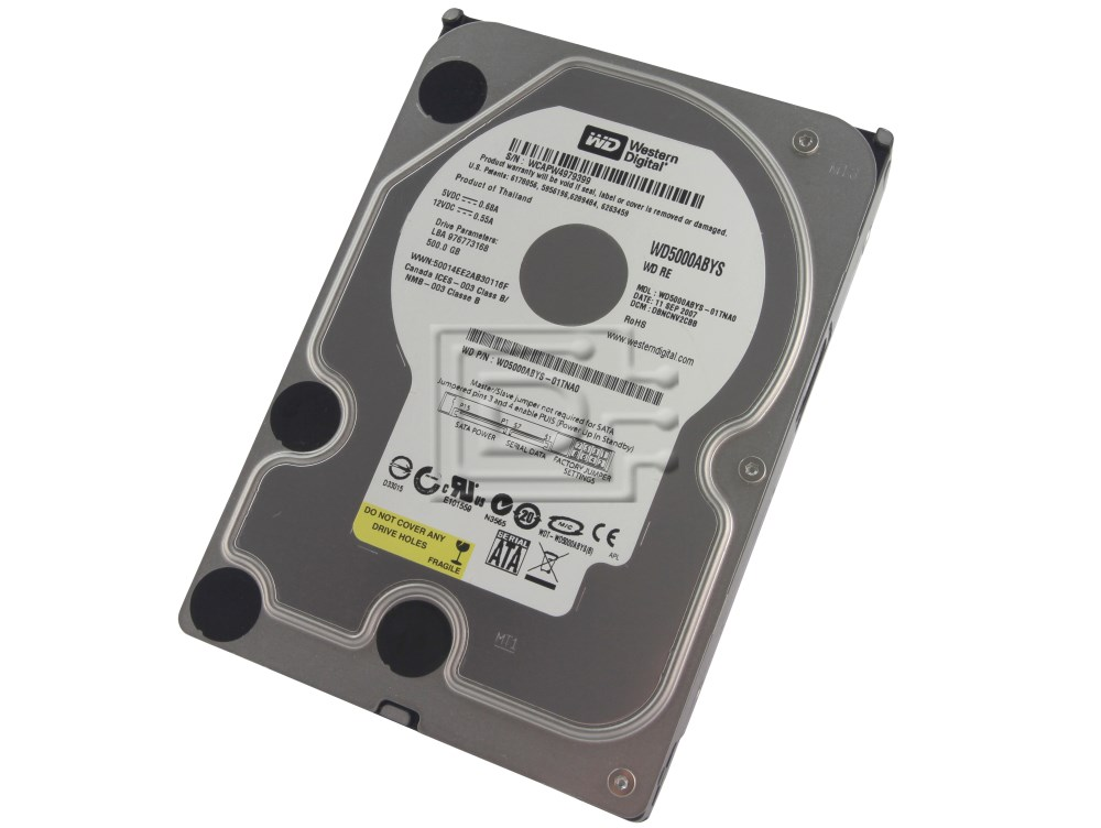 Western Digital WD5000ABYS SATA Hard Drive image 1