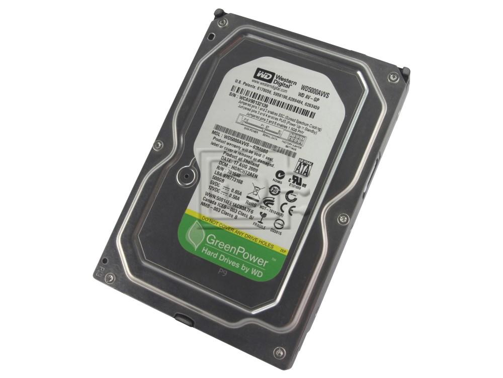 """Hitachi Deskstar 7K500 HDS725050KLA360 500GB 3.5/"""" SATA II Desktop HDD 0A32779"""