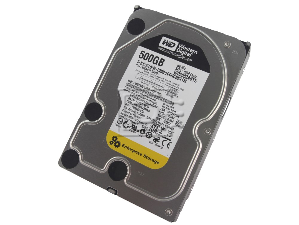 Western Digital WD5002ABYS SATA Hard Drive image 1