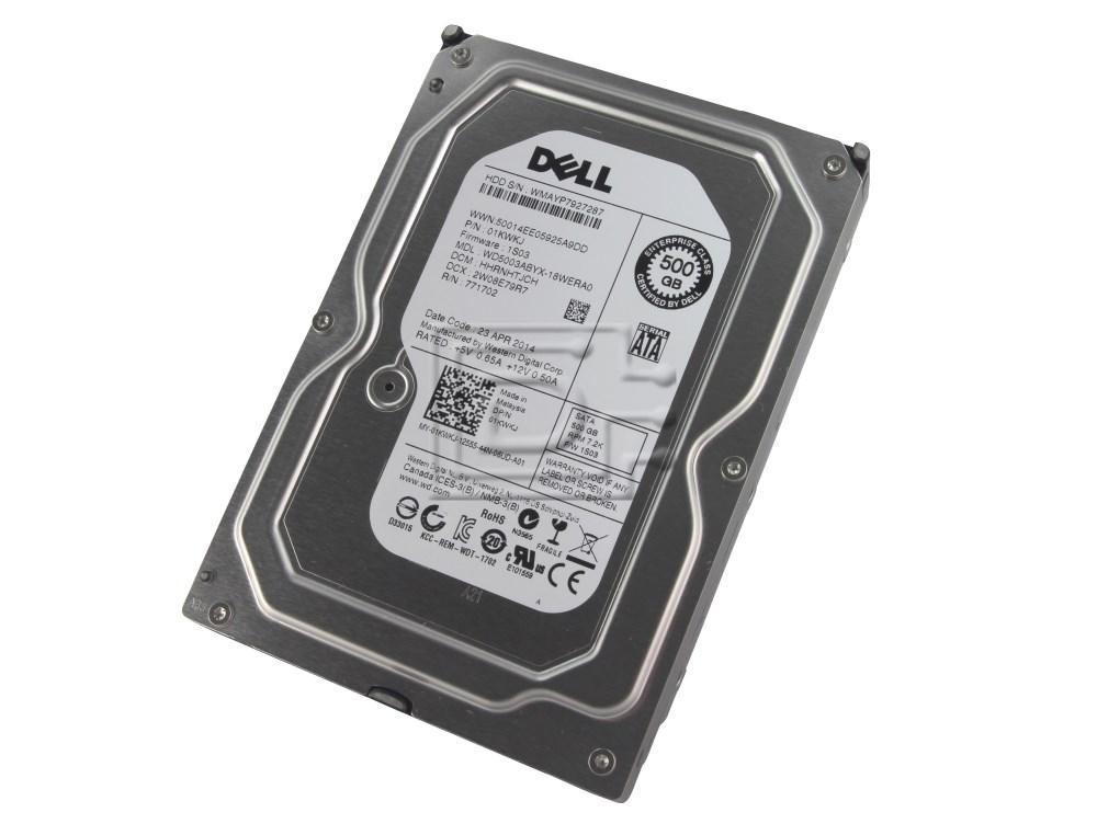 Western Digital WD5003ABYX 01KWKJ 1KWKJ SATA Hard Drive image 1