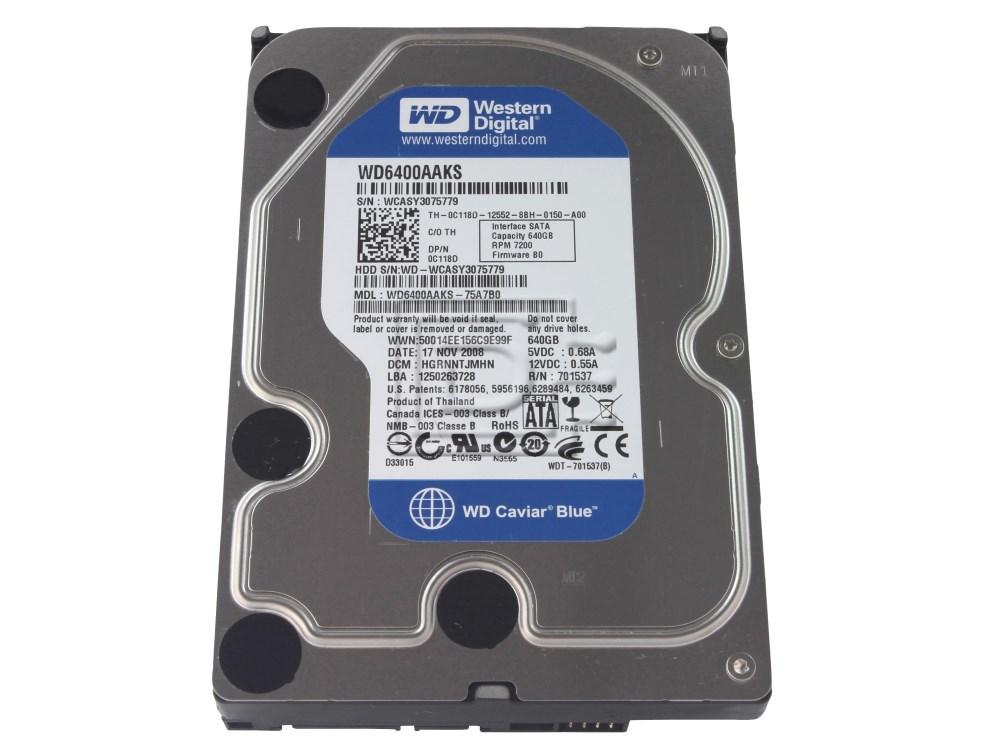 Western Digital WD6400AAKS SATA Hard Drive image 1
