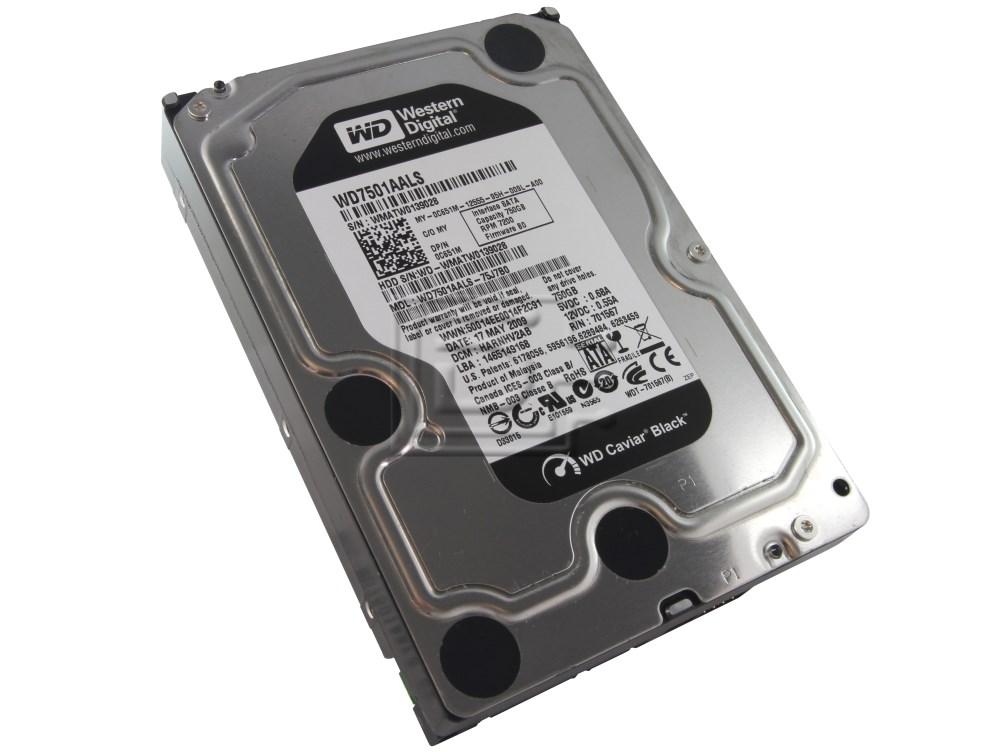 Western Digital WD7501AALS C651M 0C651M SATA Hard Drive image 4