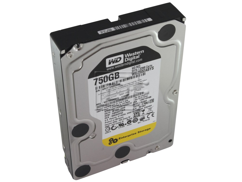 Western Digital WD7502ABYS SATA Hard Drive image 2