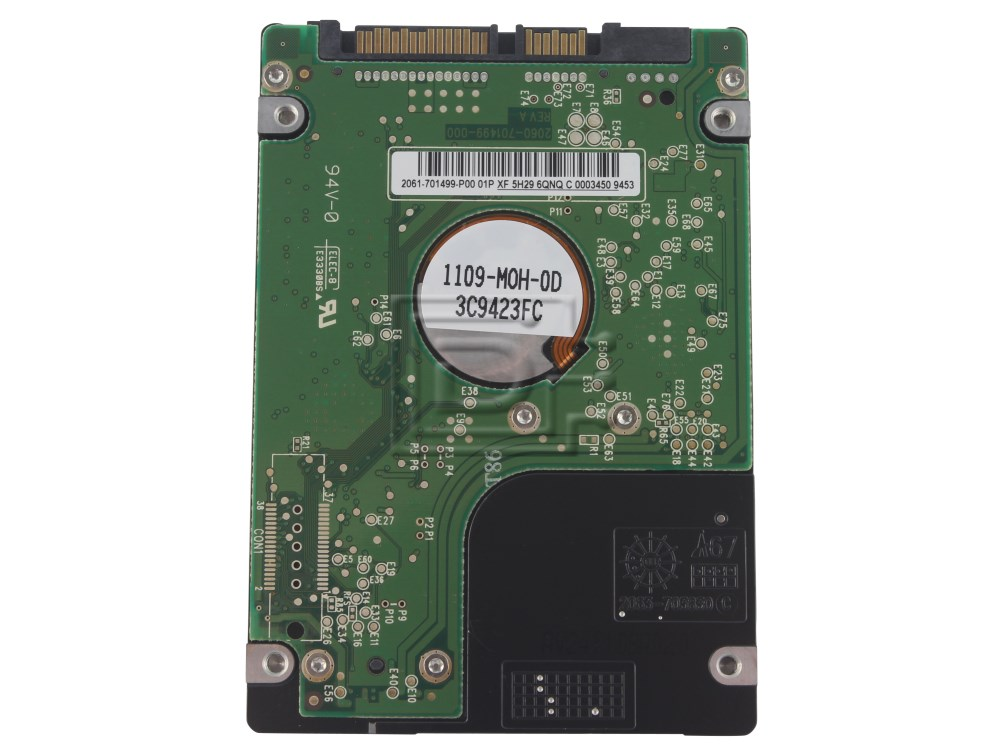 "Western Digital WD800BEVT 0PW059 PW059 2.5"" SATA Hard Drive image 2"